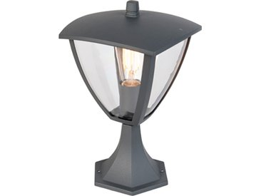 Lanterne sur pied moderne extérieur gris foncé - Platar