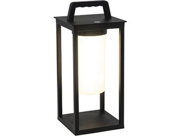 Lampe d'extérieur moderne noire avec LED rechargeable IP44 - Denlu