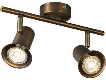 Spot de plafond bronze pivotant et inclinable - Karin 2