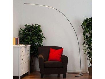 Lampe à arc moderne en aluminium avec LED et dimmer - Piegato