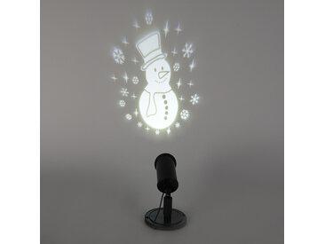 Lumières de Noël Projecteur Snowman LED blanc froid