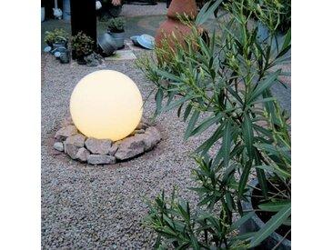 Lampe d'extérieur moderne avec broche de terre 50 cm IP44 - Bol