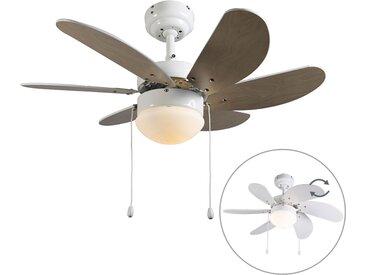 Ventilateur de plafond blanc - Fresh 3
