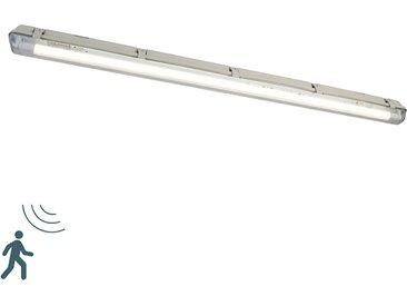 Luminaire fluorescent avec LED 1800 lm et détecteur de mouvement IP65 - Base