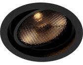 Spot encastrable moderne noir réglable - Coop 111 Honey