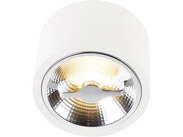 Spot de plafond AR111 blanc incl.1 x G53 dimmable 12W - Expert