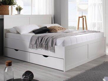 Lit FARDO 180x200 cm blanc