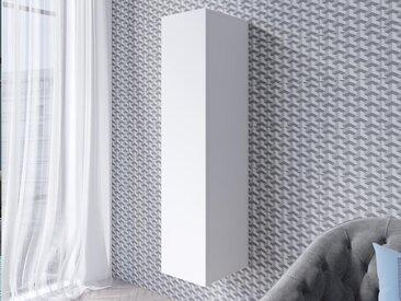 Armoire murale verticale VENATO 1 porte blanc mat