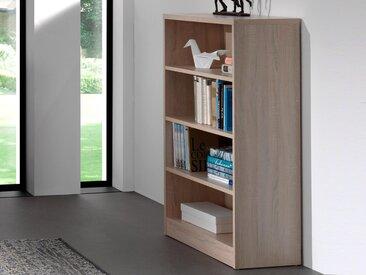 Bibliothèque ESPACITO 4 niches chêne sonoma (largeur: 55 cm)