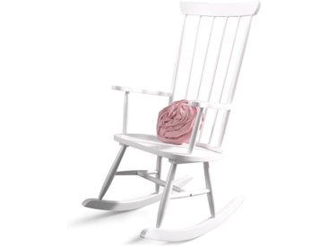 Chaise à bascule ROCKS blanc