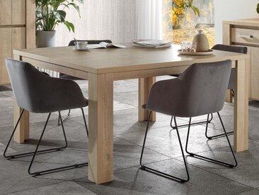 Table repas carré BREF 140 cm chêne baltic