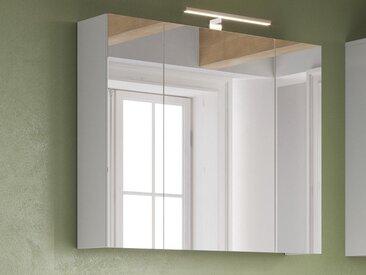 Armoire de toilette ARVALET 3 portes blanc