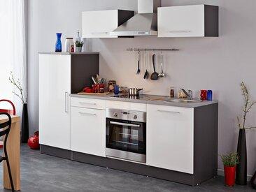 Bloc cuisine ELIE blanc/gris