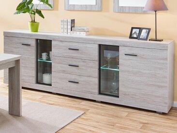 Buffet/bahut JERONIMO 4 portes et 3 tiroirs portofino