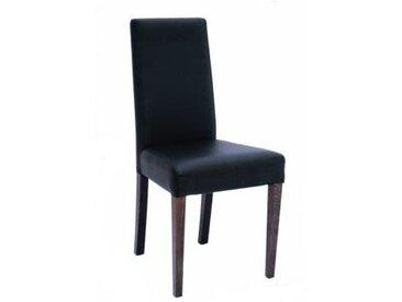 Chaise imitation cuir résistante