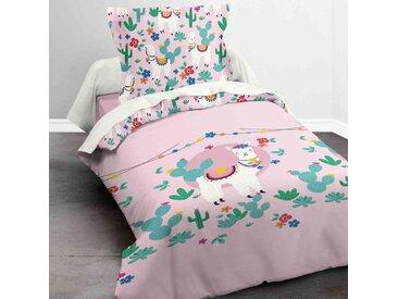 Parure de lit enfant Today Lama 140x200 cm