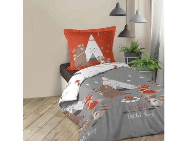 Parure de lit enfant Tipi 140x200 cm