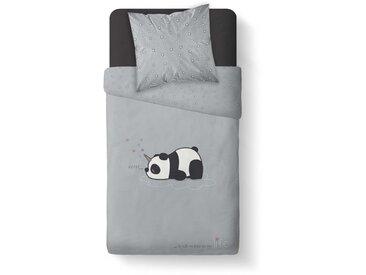 Parure de lit enfant Panda 140x200 cm