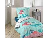 Parure de lit enfant Petite Sirena 140x200 cm