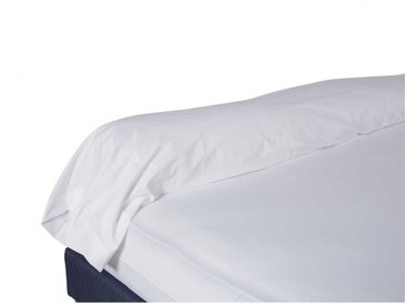 Taie de traversin blanche 100% coton biologique 140 cm
