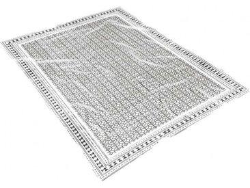 Plaid fouta Lima blanc 100x200 cm