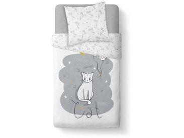 Parure de lit enfant Catmoon 140x200 cm