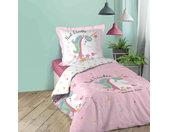 Parure de lit enfant Licornella 140x200 cm