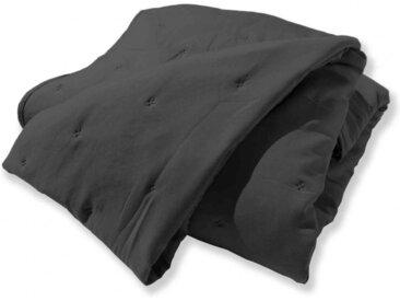 Jeté de lit matelassé Eve gris 180x220 cm