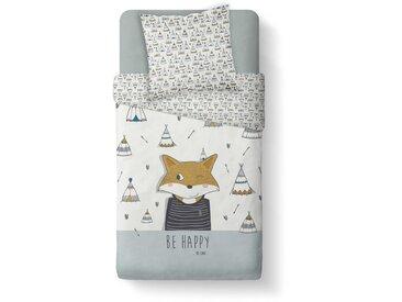Parure de lit enfant Be Happy 140x200 cm
