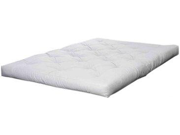 Matelas futon écru 11 cm BASIC housse Oeko-Tex® 140x200