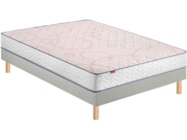 Ensemble Merinos ferme et confortable ressorts ensachés ENJOY 90x190
