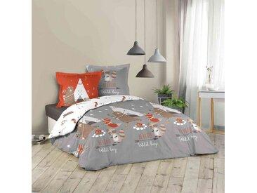 Parure de lit enfant Tipi 200x200 cm