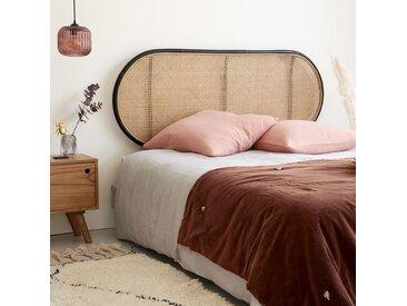Tête de lit en rotin et cannage 165 AVA