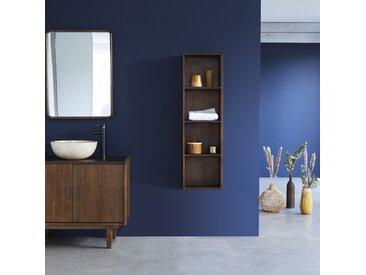 Colonne de salle de bain suspendue en bois de mindy 120 VINTAGE