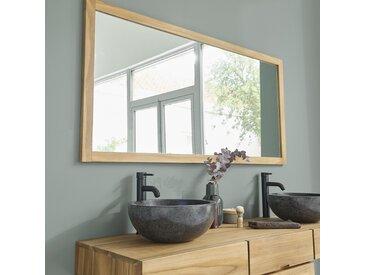 Miroir en bois de teck 160