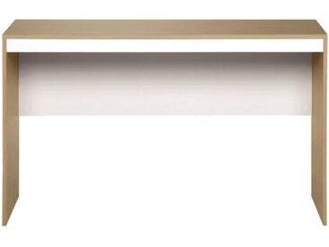 Bureau Chêne et Blanc 130 cm