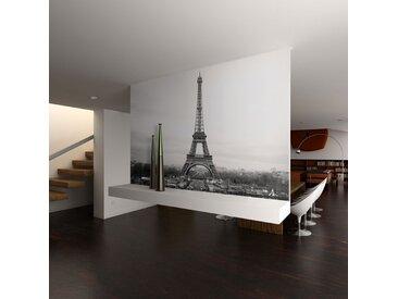 Papier peint - Paris : photographie en noir et blanc