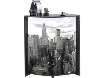 Meuble-Comptoir Bar 96 cm Noir
