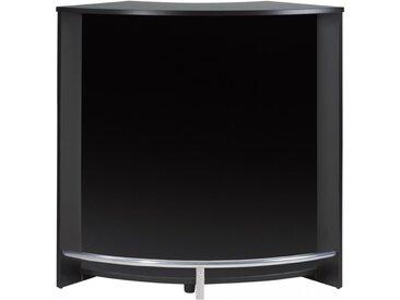 Meuble Bar Comptoir 107 cm Face Noire