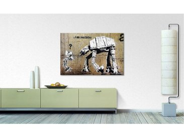 Impression sur toile Banksy No.9