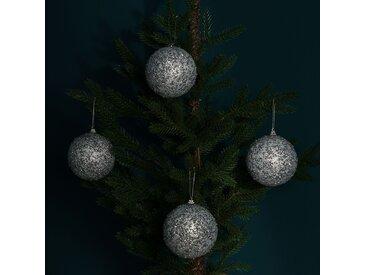 Boules de Noël Jussara (lot de 4)