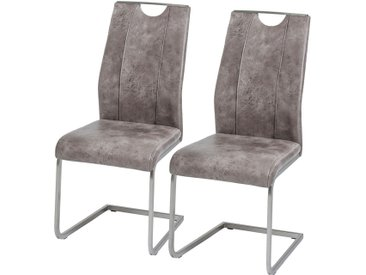 Chaises cantilever Scalea (lot de 2)