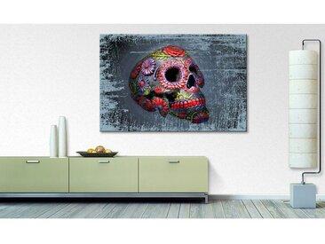 Impression sur toile Smiling Skull