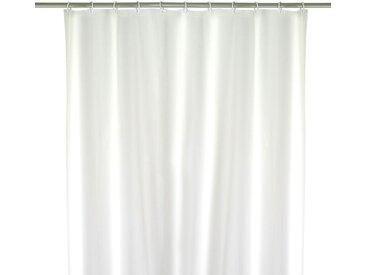 Rideau de douche Uni blanc