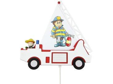 Applique murale camion de pompier