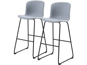 Chaises de bar Vinitsa (Lot de 2)