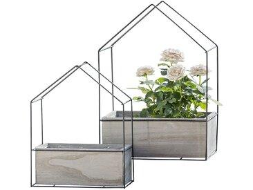 Bacs à fleurs Haus (2 éléments)