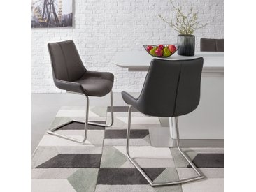 Chaises cantilever Saval (lot de 2)