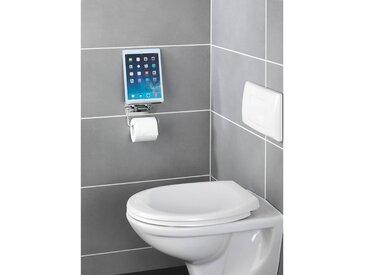 Porte papier WC avec support smartphone