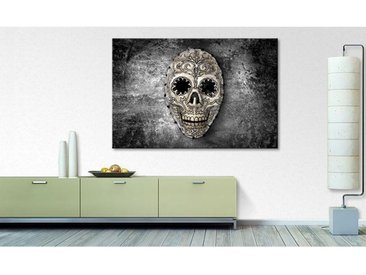 Impression sur toile Monochrome Skull